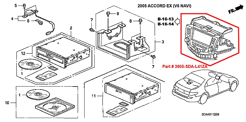 Head Unit Honda Accord Connection and Install Diagram