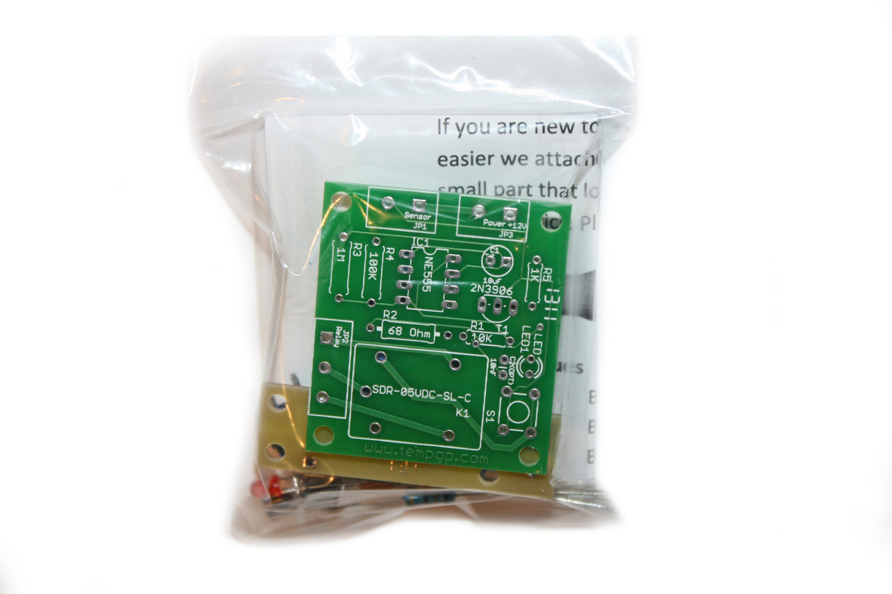 DIY Water Flood Monitor Kit PCB Module